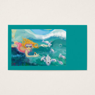 Under the ocean business card