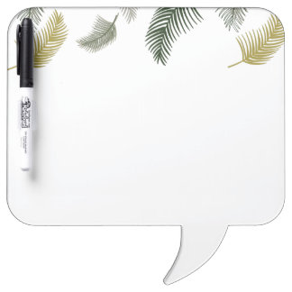Under the palm trees dry erase board