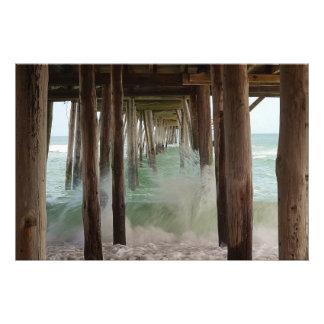 Under The Pier Art Photo