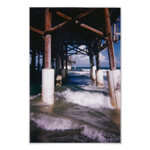 Under the Pier Print