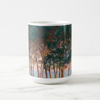 Under the Pine Trees at the End of the Day Coffee Mug