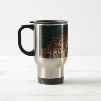 Under the Pine Trees at the End of the Day Travel Mug