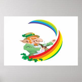 Under The Rainbow Print
