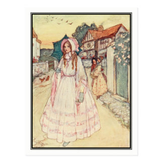 Under the Rose by Florence Harrison Postcard