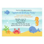 Under The Sea Birthday Invitation (Boys)
