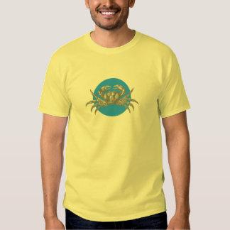 Under the Sea: Crab Motif Tshirt