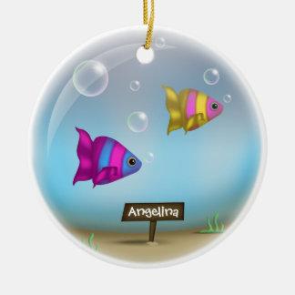 Under the Sea - Fish Bowl Design Ornament