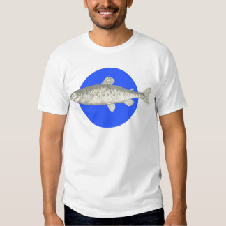 Under the Sea: Fish Motif T-shirt