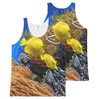 Under the Sea Fish Photography Print All-Over Print Tank Top