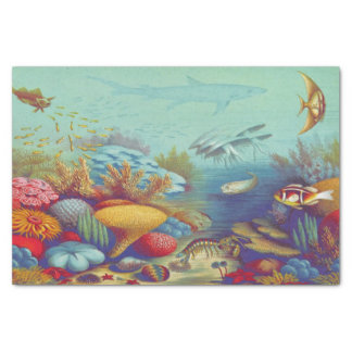 Under the Sea Marine Scene Tissue Paper