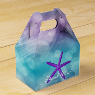 Under The Sea Mermaid Tail Party Favor Boxes