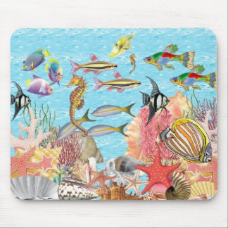 Under the sea mouse mat