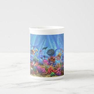 Under the Sea Bone China Mug