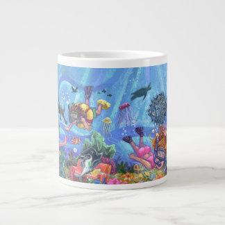 Under the Sea Jumbo Mug
