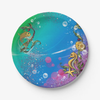 Under the Sea Paper Plate