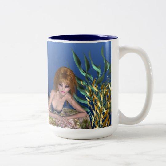 Under the Sea Redheaded Mermaid Tea/Coffee Mug