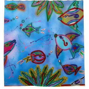 Under The Sea Shower Curtains | Zazzle.co.uk
