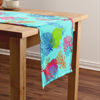 Under the Sea Tropical Fish Table Runner
