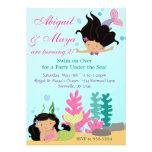 Under the Sea Twin Mermaid Girls Birthday Party