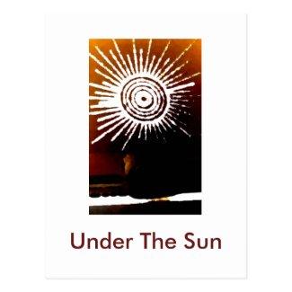 Under The Sun postcard.