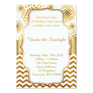 Under The Sunlight, back white & gold Card