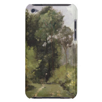 Under the Trees, 1864 (oil on board) iPod Case-Mate Cases