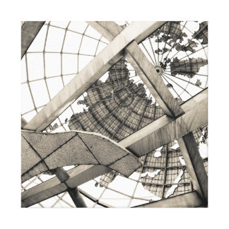 Under The Unisphere - Queens New York Canvas Print