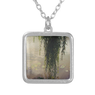 under the willow tree.jpg silver plated necklace