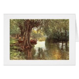 Under the Willows Greeting Card