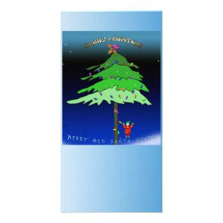 Under the Xmas Tree Photo Cards
