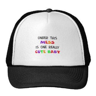 UNDER THIS MESS CAP