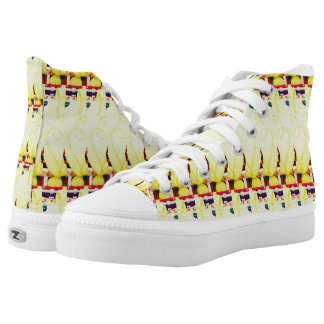 Under Thread Printed Shoes