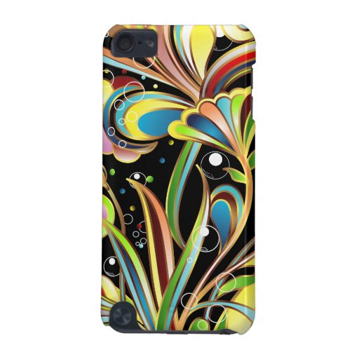 Under Water Flowers Case Design iPod Touch (5th Generation) Covers