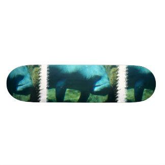 Under Water Manatee  Skateboard