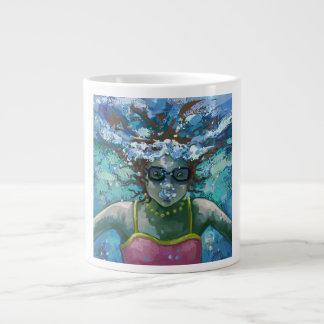 Under Water Swim Jumbo Mug