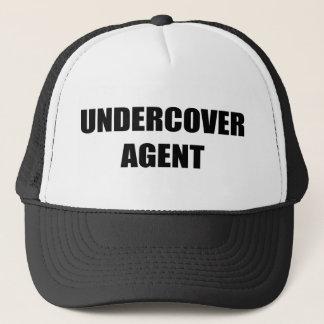 Undercover Agent Trucker Hat