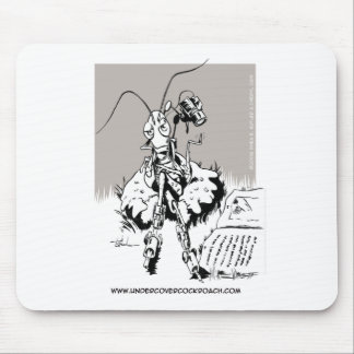 Undercover Cockroach Mouse Mat