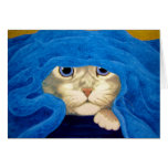 UnderCover Kitty Cat Greeting Cards