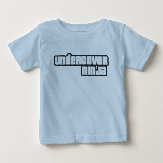 undercover ninja baby T-Shirt