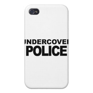Undercover Police iPhone 4/4S Cover