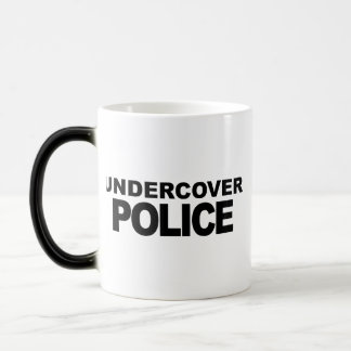 Undercover Police Morphing Mug
