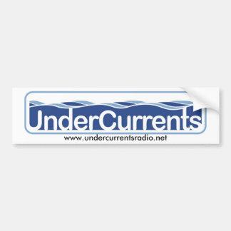 UnderCurrents Sticker Bumper Sticker