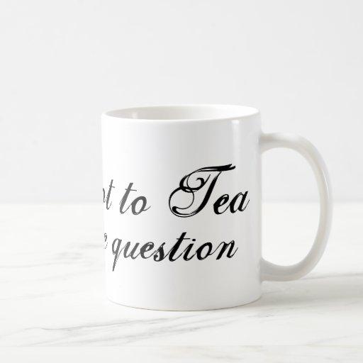 UNDERDOG - ''Tea or not to Tea'' Mug