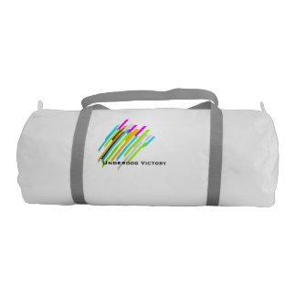 Underdog Victory - ColorLines GymBag Gym Duffel Bag