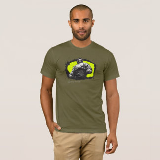Underdog Victory Possessed Gangsta - Army Green T-Shirt