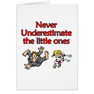 Underestimate Greeting Card