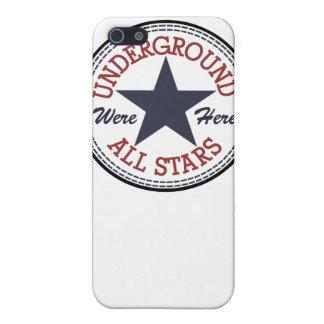 Underground All Stars iPhone 4 Case