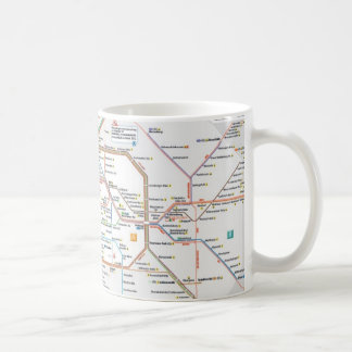 Underground Berlin Basic White Mug