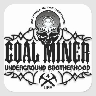 UNDERGROUND BROTHERHOOD SQUARE STICKER
