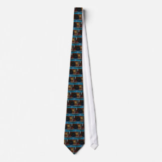 Underground Sewers Tunnel Cartoon Tie